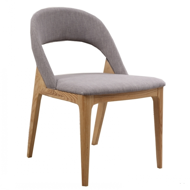 Nordic Wooden Dining Chair for Restaurant Cafe