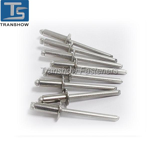 Open Type Rivet Aluminium /Steel Domed Head Blind Rivet