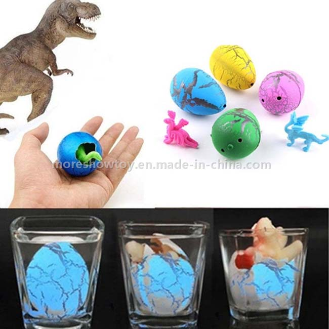 60PCS Small Size Water Dinosaur Eggs Growing Eggs Toy