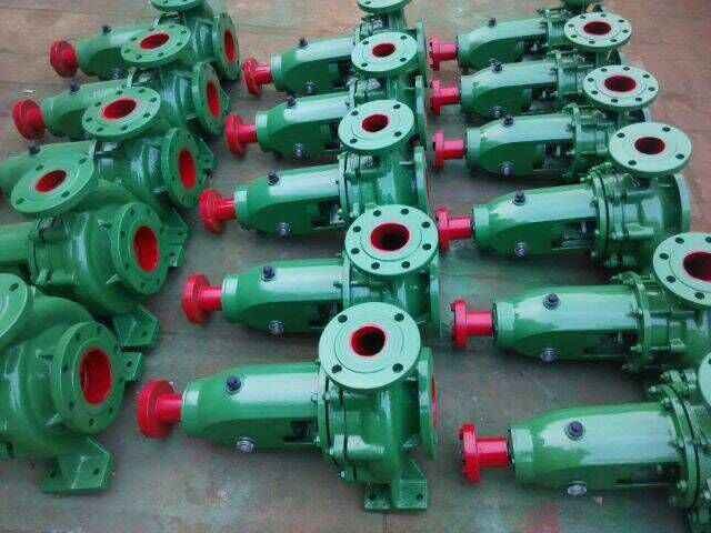 IS series water bare pump