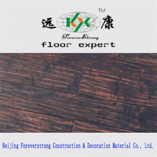 Real Wood Grain Embossed Dark Antique Multi-Layer Engineered Flooring