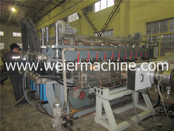 Hot Sale PC Polycarbonate Sunshine Hollow Sheet Making Machine