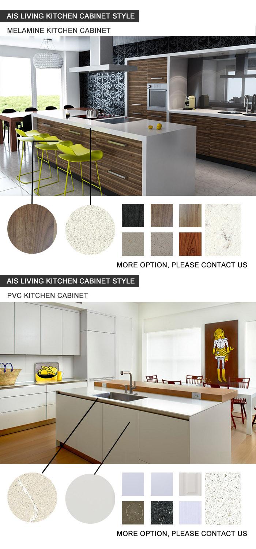 Flat Pack Furniture Kitchen Cabinets Furniture (AIS-K446)