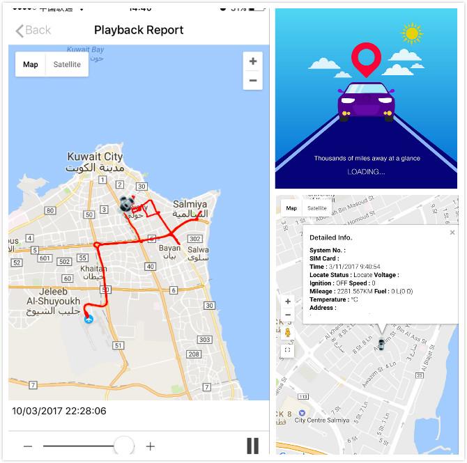 GPS Tracking Software Platform Support Tk103 Tk102 Gt06 Gt02
