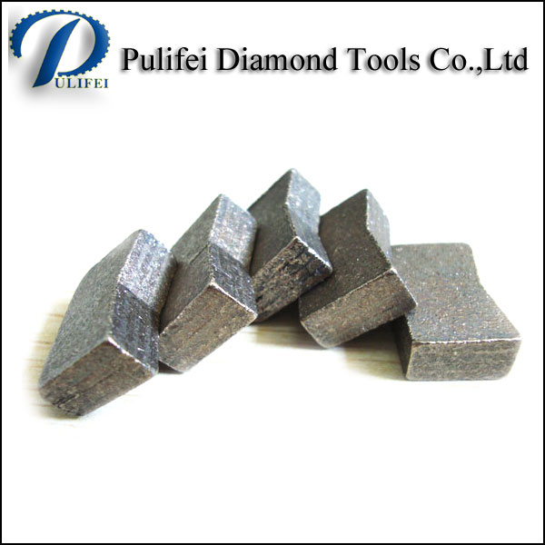 High Frequency Welding Hard Rock Cutting Tools Diamond Segment