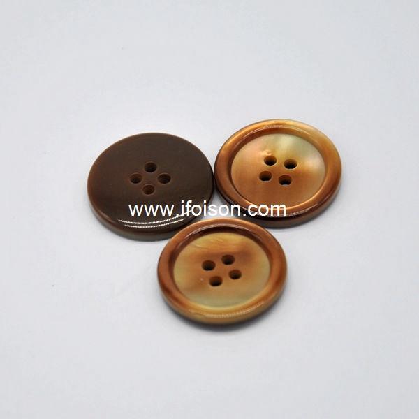 Imitation shell button