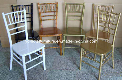 Cheap Stackable Aluminum Chiavari Chair for Many Colors (YC-A68)