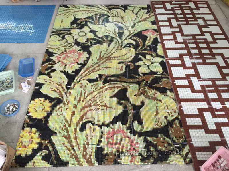 Mosaic Pattern, Mosaic Picture Design for Wall Tile (HMP865)