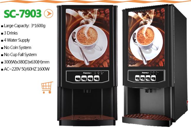 Hot Drink Coffee Vending Machine Sc-7903