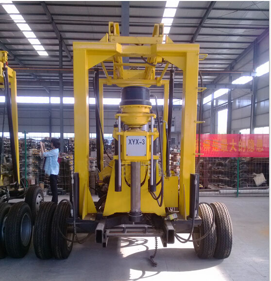 Hydraulic Core Water Drilling Rig for Sale