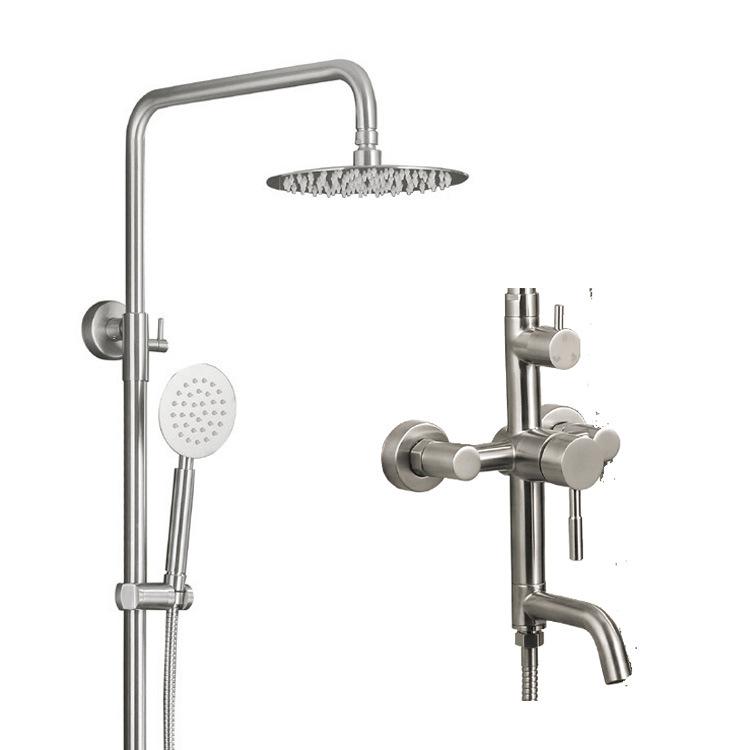 Wall Mounted Bathroom Shower Set Faucet