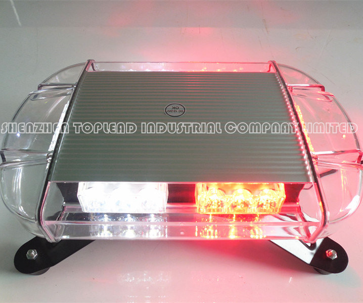 12-30V 80W Yellow COB Emergency Lightbar Warning Flashing and Rotating Lamp