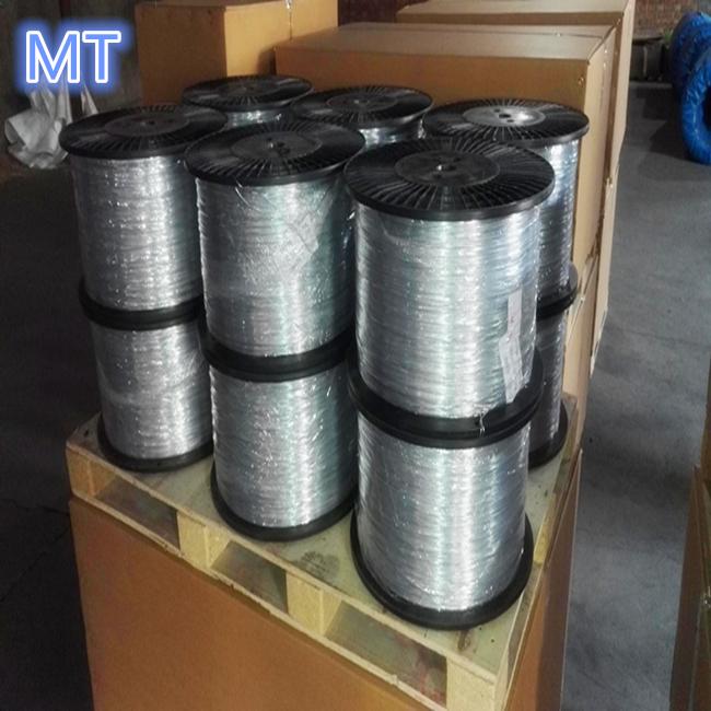 Spool /Bobbin Packing Wire Galvanized Wire 0.8mm 10kg/Spool