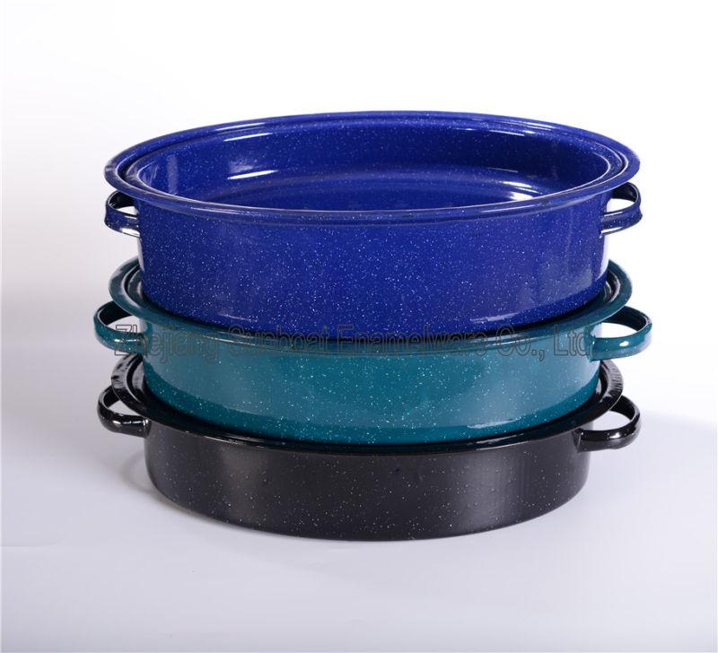 Sunboat Enamel Roaster /Enamel Cookware /Kitchenware/ Kitchen Appliance