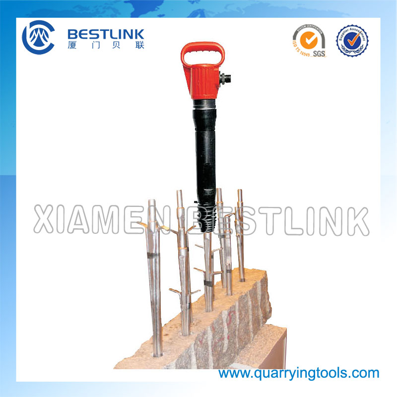 Pneumatic Rock Splitter for Breaking Stone Quarry