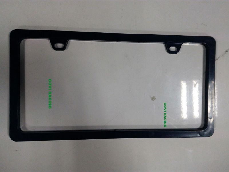 Different Shape Black Car License Plate Frame Frames Holder with ABS 312X160mm