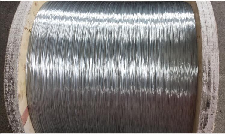 Hot Dipped Galvanized High Carbon Steel Wire for Stranded Conductors