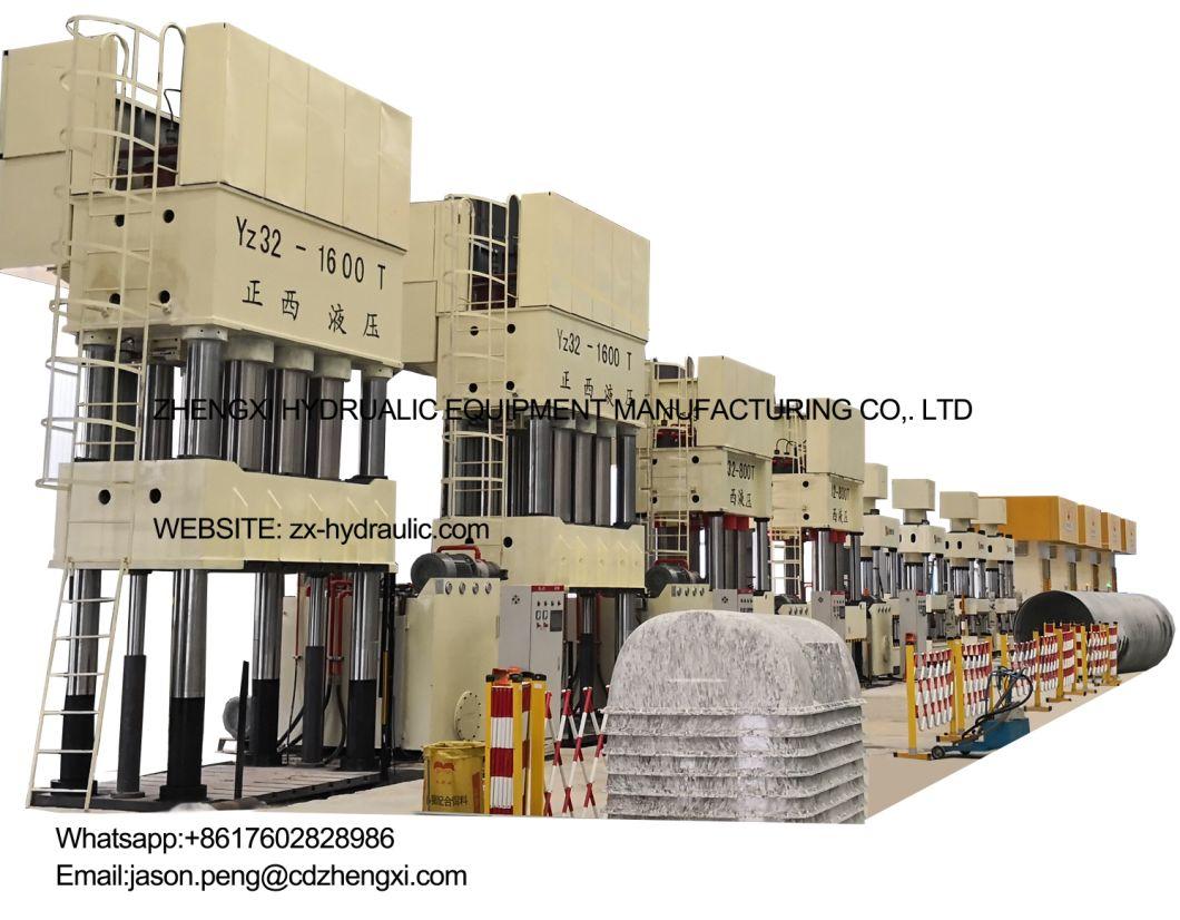 Vulcanizing Hydraulic Press Machine Vulcanizer Rubber Machine 400 Ton