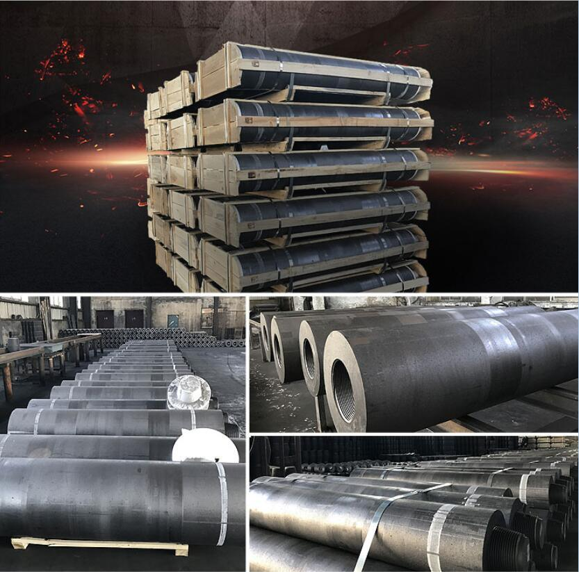 Graphite Electrode Grade HP UHP Shp Graphite Materials Export to All Over The World