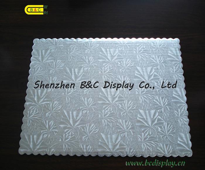 Silver Foil Corrugated Square Cake Drums