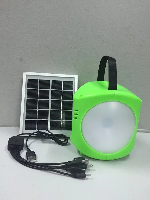 Solar LED Light Lamp Lantern with Beautiful Design From ISO9001 Factory