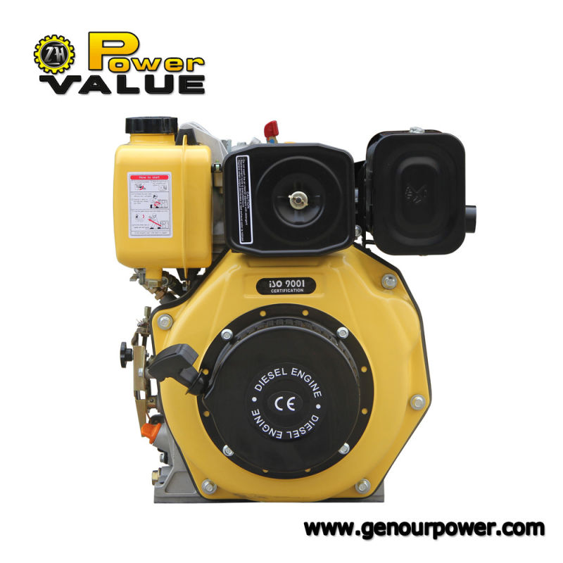 6.7HP Hot Sale New Design 2 Cylinder 4 Stroke Air Cooled Diesel Engine