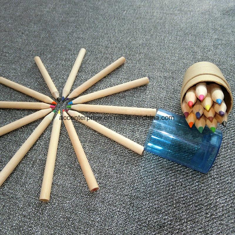 24 Color Pencils for Children