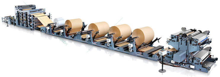Paper Bag Machine for Packaging