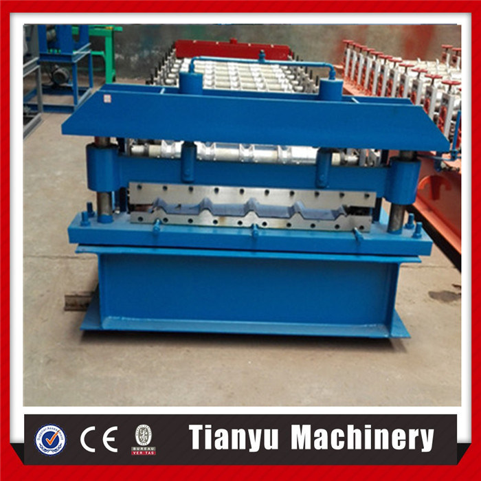 Iron Steel Roof Tile Metal Panel Making Roll Forming Machine