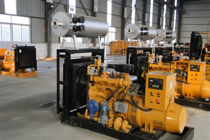 150kw Biogas Engine / Biogas Electric Generator with CHP System