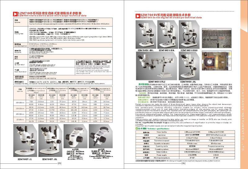 Lab Optical Instrument Zoom Stereo Microscope Binocular Head