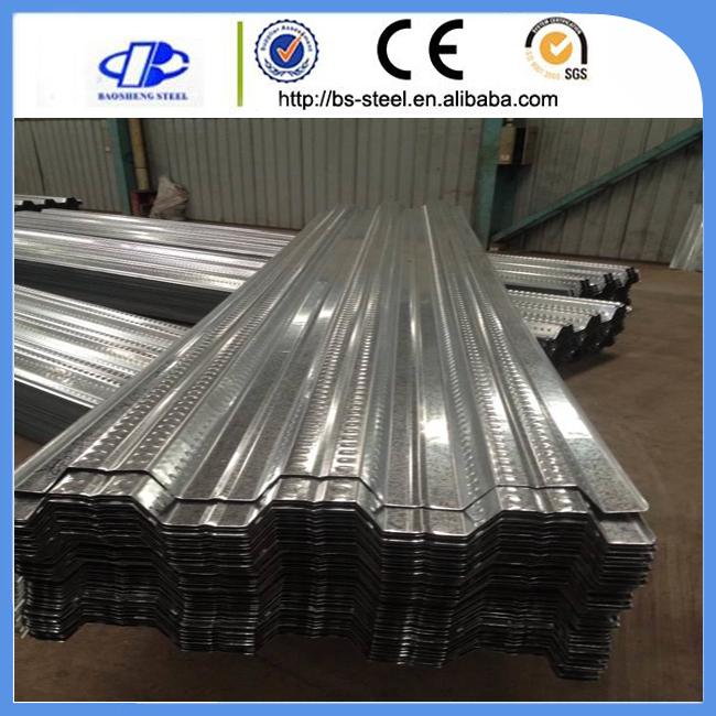 Zinc Coated Steel Metal Galvanized Floor Deck Sheet