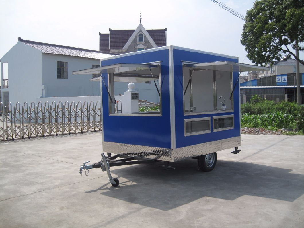 Small Size Trolley Cart for Selling Ice Cream and Snacks