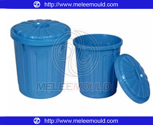 Plastic Thin Wall Bucket with Cover Moulding