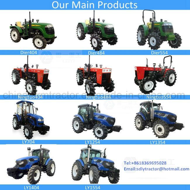 China Supplier Wheeled Agricultural/Deutz/Yto/Garden/Mini Tractor for Farm Use (40HP/48HP/55HP/70HP/125HP/135P/140HP/155HP)