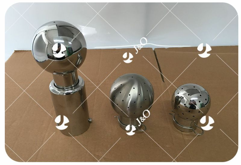 Stainless Steel Sanitary Bolted Fixed Cleaning Ball