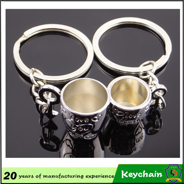 Cup Couple Key Chain