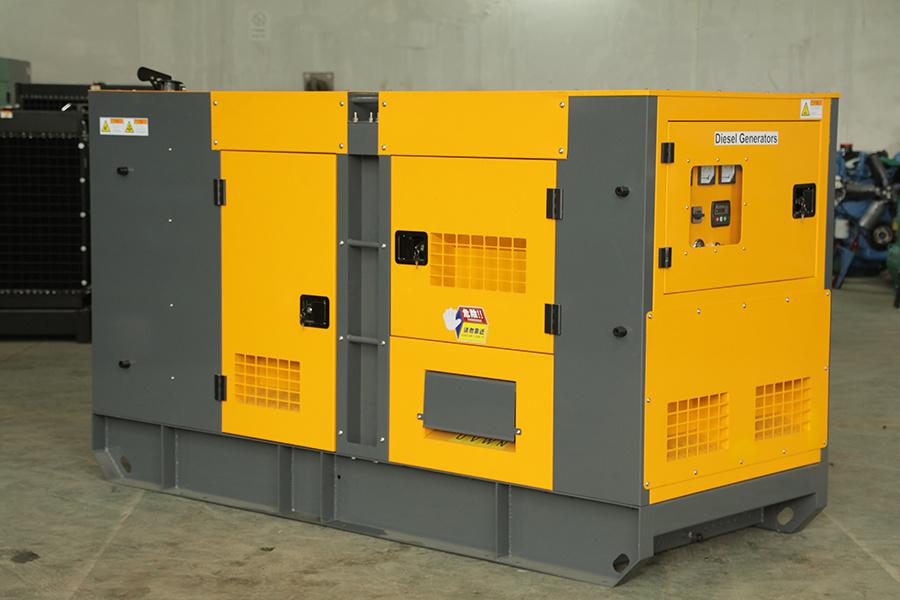 160kw Water Cooled Silent Diesel Generator Set Genset with Perkins Engine Cummins Engine