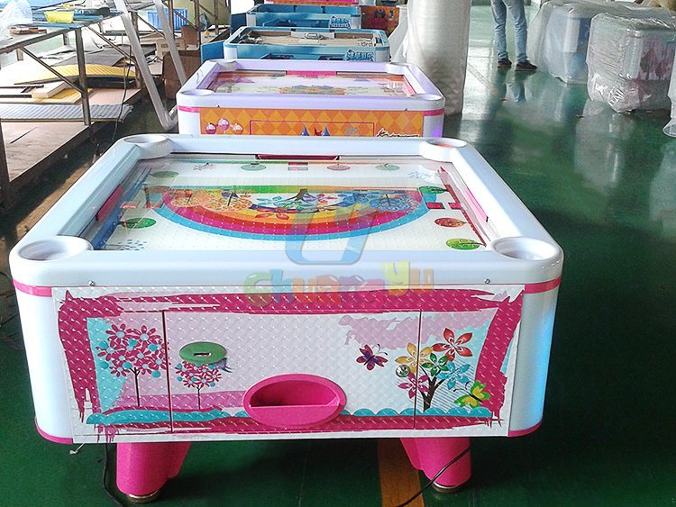 Adult Coin Operated Classic Arcade Games Air Hockey Table