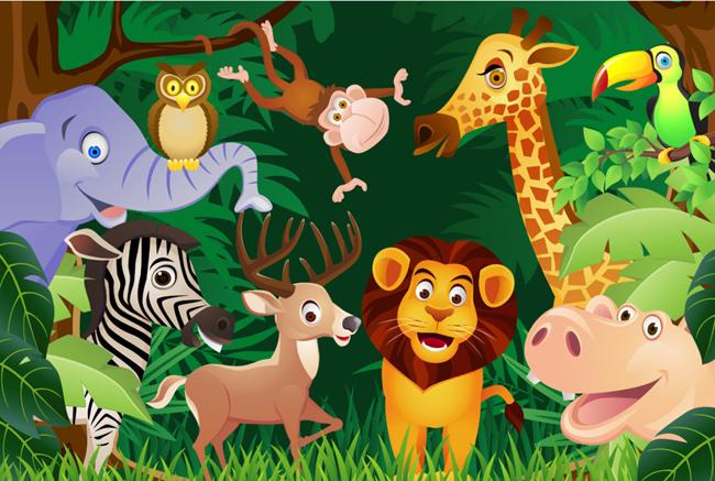 Jungle Theme Ce Standard Chidlren Indoor Playground for Recreation Center