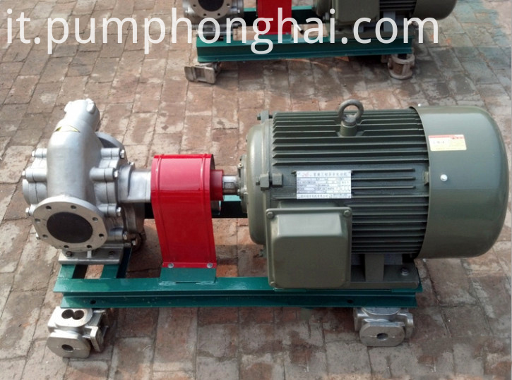 KCB135-483.3 stainless steel gear pump