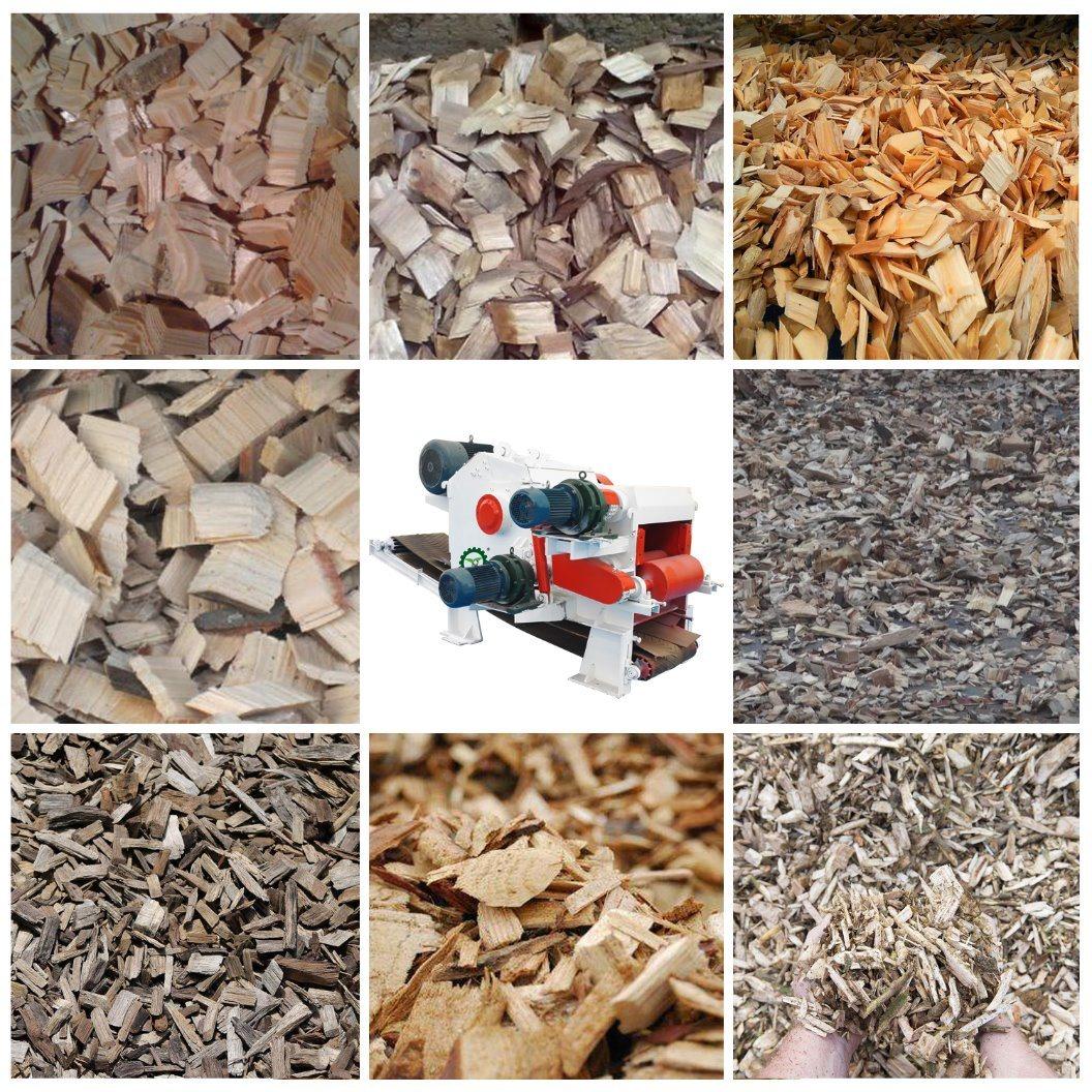Wood Waste Shredder Wood Chipping Machine