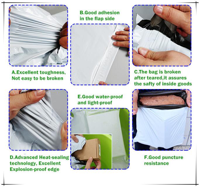 Delicate Design PE Plastic Handle Shopping Bags