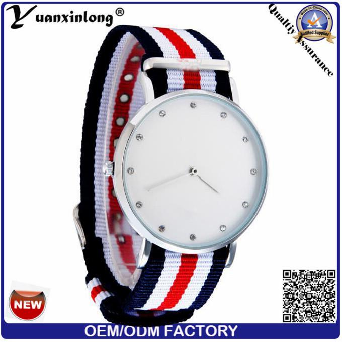 Yxl-209 New Design Hot Sale Nylow Watch, Nato Watches, Quartz Men Women Sport Wristwatch