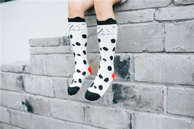 Popular Fashion Girl Cotton Tighs Girl Stocking 3D Design Ear Cuff