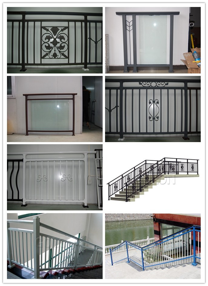 Indoor House Iron Stair