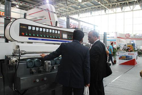 China Product Glass Straight Line Beveling Machine