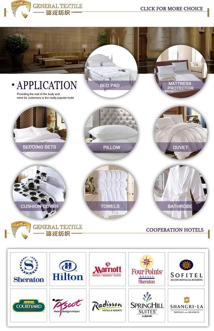 Standard Microfiber Cover Polyester Filling Pillow (JRD440)
