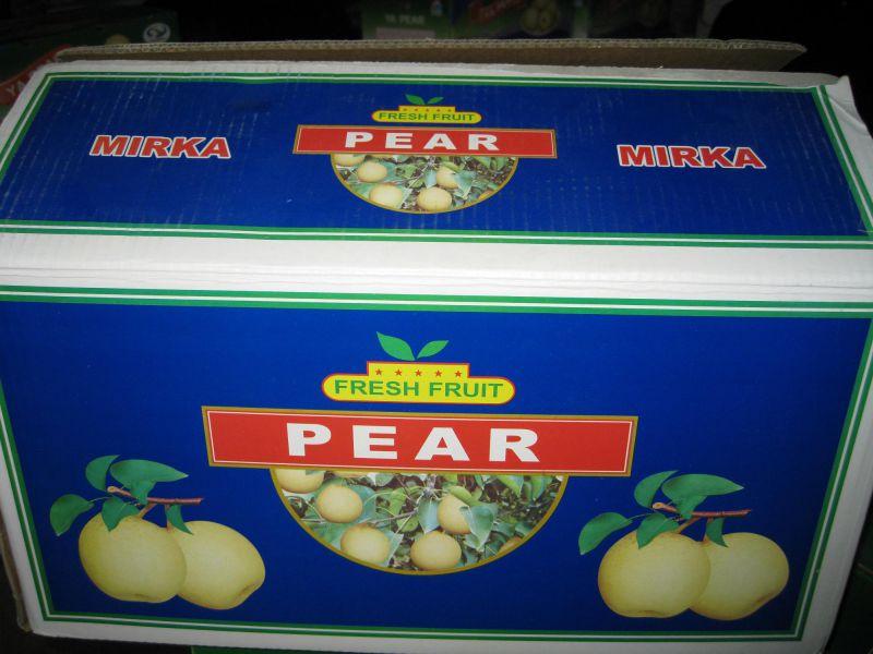 Fresh Chinese Ya Pear Yellow Color