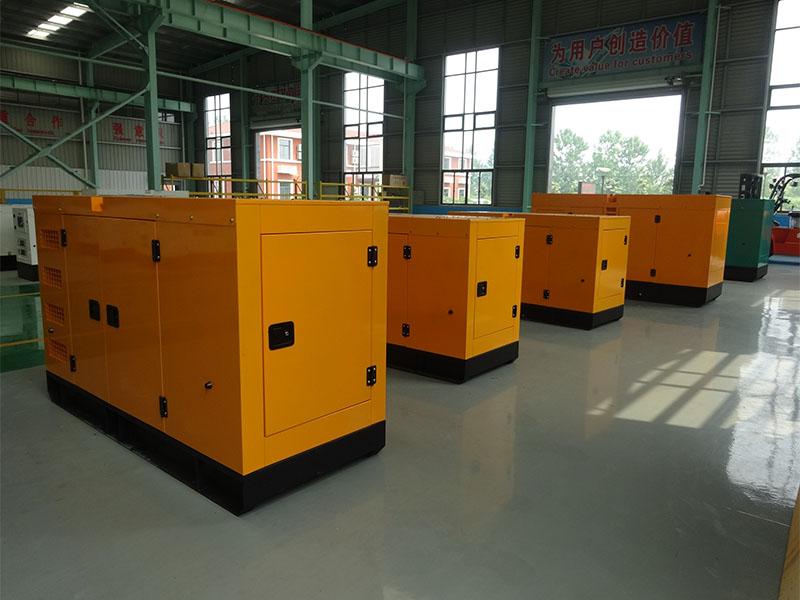 Factory Price Cummins Soundproof Diesel Generator Set (200kVA/160kw)